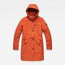 G-Star RAW® Vodan Padded Slim Parka Orange flat front