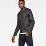 G-Star RAW® Empral Deconstructed 3D Biker Jacket Black model side