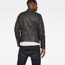 G-Star RAW® Empral Deconstructed 3D Biker Jacket Black model back