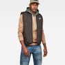 G-Star RAW® Blake Quilted Vest Zwart model front