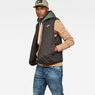 G-Star RAW® Blake Quilted Vest Zwart model side