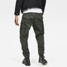 G-Star RAW® Rovic Zip 3D Straight Tapered Pants Green model back