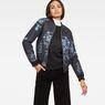 G-Star RAW® Deline Slim Bomber Dark blue model front