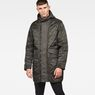 G-Star RAW® Vodan Quilted Parka Grey model front