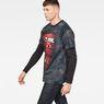 G-Star RAW® Cyrer Eclipse Loose T-Shirt Black model side