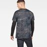 G-Star RAW® Cyrer Eclipse Loose T-Shirt Black model back