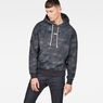 G-Star RAW® Cyrer Eclipse Hooded Sweat Black model front