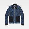 G-Star RAW® Blake Denim Overshirt Dark blue flat front