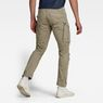 G-Star RAW® Rovic Zip 3D Straight Tapered Pants Beige model back