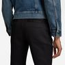 G-Star RAW® Bronson Mid Waist Skinny Chino Black model back zoom
