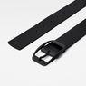 G-Star RAW® Ladd Belt Zwart front flat