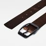 G-Star RAW® Ladd Belt Brown front flat