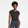 G-Star RAW® Eyben Slim T-Shirt Black model front