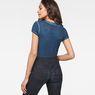 G-Star RAW® Suphe Slim T-Shirt Dark blue model back