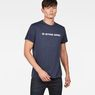 G-Star RAW® Loaq T-Shirt Dark blue model front