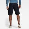 G-Star RAW® Rovic Zip Relaxed 1/2-Length Shorts Dark blue model back