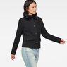 G-Star RAW® Minor Teddy Wool Classic Jacket Black model side