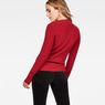 G-Star RAW® Exly Mock Turtle Knit Red model back