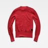 G-Star RAW® Exly Mock Turtle Knit Red flat front