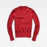 G-Star RAW® Exly Mock Turtle Knit Red flat back