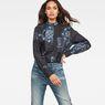 G-Star RAW® Road Shirt Dark blue model front
