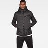 G-Star RAW® Attacc Hooded Overshirt Black model front