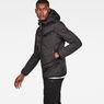 G-Star RAW® Attacc Hooded Overshirt Black model side