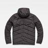 G-Star RAW® Attacc Hooded Overshirt Black flat back