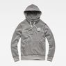 G-Star RAW® Graphic 16 Core Hooded Sweat Grey flat front