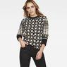 G-Star RAW® Jacquard Knit Black model front