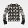 G-Star RAW® Jacquard Knit Black flat back