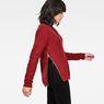 G-Star RAW® Vee Knit Red model side
