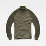 G-Star RAW® Suzaki Pro Turtle Knit Green flat front