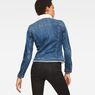 G-Star RAW® 3301 Slim Sherpa Jacket Medium blue model back