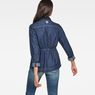 G-Star RAW® Blake Denim Overshirt Dark blue model back