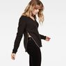 G-Star RAW® Vee Knit Black model side