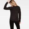 G-Star RAW® Vee Knit Black model back