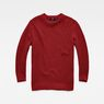 G-Star RAW® Plush Knit Red flat front