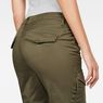 G-Star RAW® Rovic Mid Waist Skinny Cargo Pants Grün model back zoom