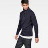 G-Star RAW® Bantson Zip Knit Dark blue model side