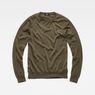 G-Star RAW® Core Knit Green flat front