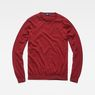 G-Star RAW® Core Knit Red flat front