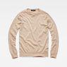 G-Star RAW® Core Knit Beige flat front