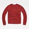 G-Star RAW® Vee Knit Red flat back