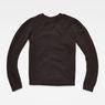 G-Star RAW® Vee Knit Black flat back