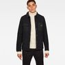 G-Star RAW® Blake Worker Pm Wool Jacket Black model front