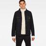 G-Star RAW® Blake Worker Pm Wool Jacket Zwart model front