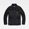 G-Star RAW® Blake Worker Pm Wool Jacket Zwart flat front