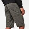 G-Star RAW® 5621 3D 1/2 Shorts Grey front flat