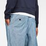G-Star RAW® Bronson Sport X-Loose Chino Medium blue model back zoom